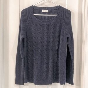 Liz Claiborne Sparkly Blue Sweater Size Medium
